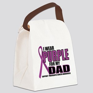 Pancreatic Cancer: Dad Canvas Lunch Bag