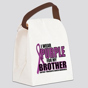 Pancreatic Cancer: Brother Canvas Lunch Bag