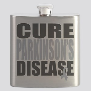 2-Cure-Parkinsons-Cancer Flask