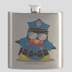 Police-Penguin Flask
