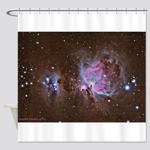The Great Orion Nebula Shower Curtain