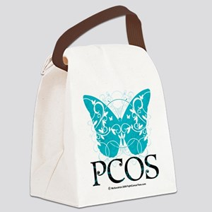 PCOS-Butterfly Canvas Lunch Bag