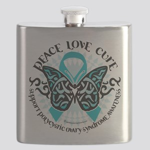 PCOS-Butterfly-Tribal-2 Flask