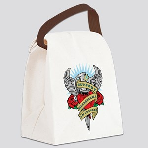 Scleroderma-Dagger Canvas Lunch Bag