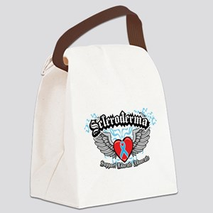 Scleroderma-Wings Canvas Lunch Bag