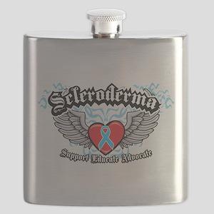Scleroderma-Wings Flask