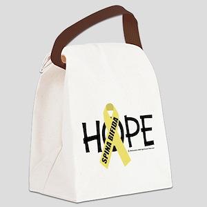 Spina-Bifida-Hope Canvas Lunch Bag