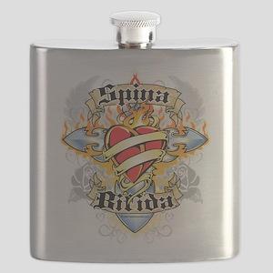 Spina-Bifida-Cross--Heart Flask
