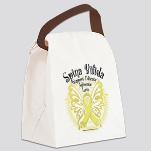 Spina-Bifida-Butterfly-3 Canvas Lunch Bag