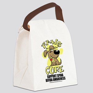 Paws-for-the-Cure-Spina-Bifida Canvas Lunch Ba
