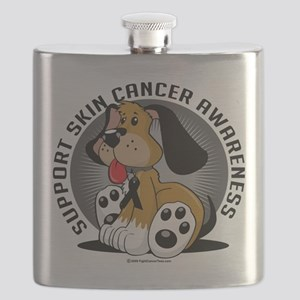 Skin-Cancer-Dog Flask