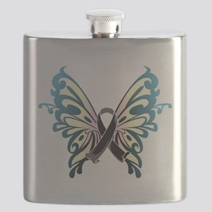 Skin-Cancer-Butterfly Flask