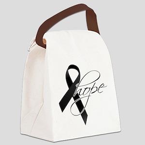 Skin-Cancer-Hope-2 Canvas Lunch Bag