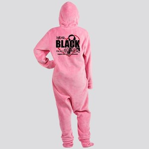 Skin-Cancer-for-Mom Footed Pajamas