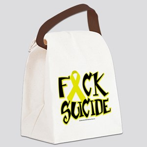 Fuck-Suicide Canvas Lunch Bag