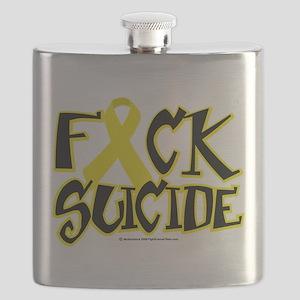 Fuck-Suicide Flask