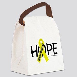 Suicide-Prevention-Hope Canvas Lunch Bag