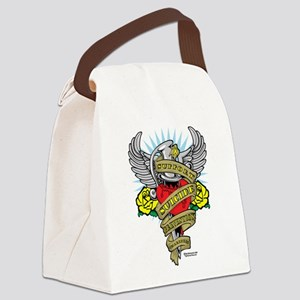 Suicide-Prevention-Dagger Canvas Lunch Bag