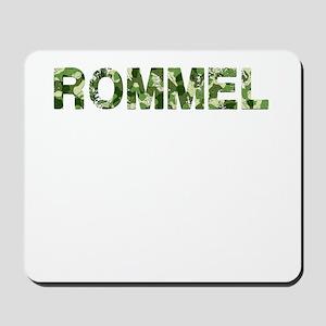 Rommel, Vintage Camo, Mousepad