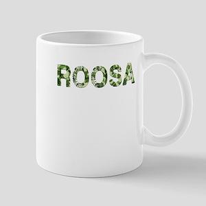 Roosa, Vintage Camo, Mug