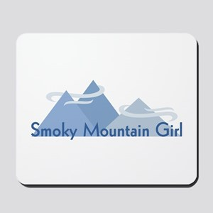 Smoky Mountain Girl Mousepad
