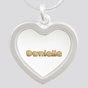 Danielle Toasted Silver Heart Necklace