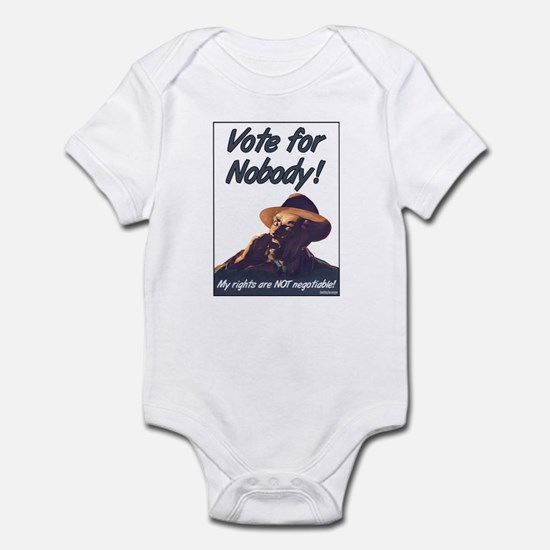 Vote for Nobody! Infant Bodysuit