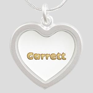 Garrett Toasted Silver Heart Necklace