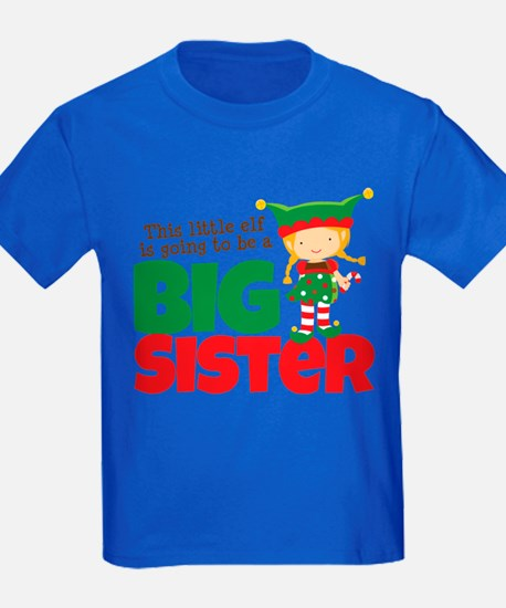 Elf going to be a Big Sister T