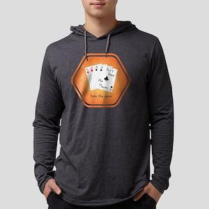 2-17x17_hatethegame_cards Mens Hooded Shirt