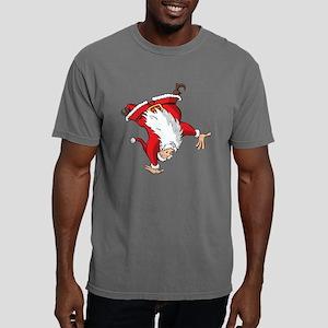 Acrobat Santa Mens Comfort Colors Shirt