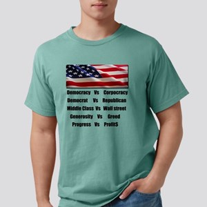democrat vs republikan c Mens Comfort Colors Shirt