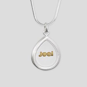 Joel Toasted Silver Teardrop Necklace