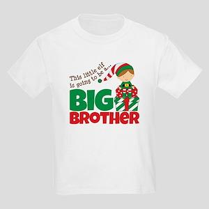 Elf Big Brother To Be Kids Light T-Shirt