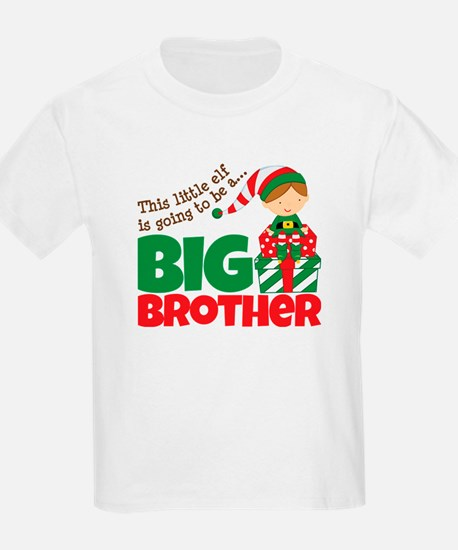 Elf Big Brother To Be T-Shirt