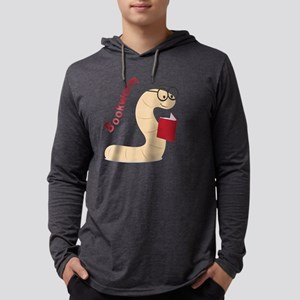 Bookworm Mens Hooded Shirt