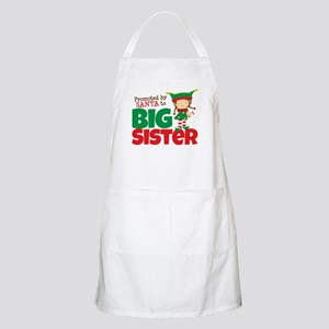 Elf Big Sister To Be Apron