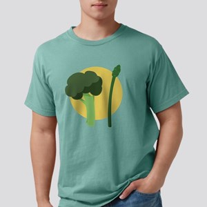 Broccoli Asparagus Mens Comfort Colors Shirt