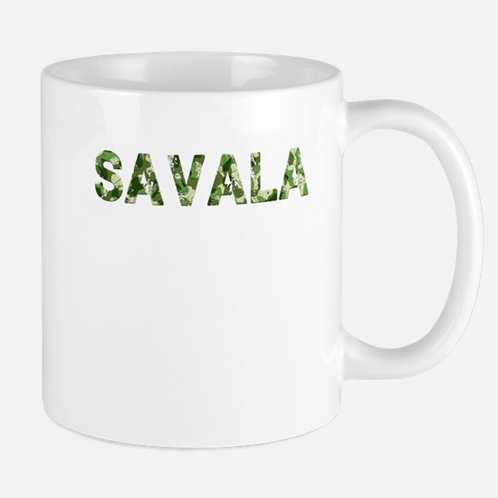 Savala, Vintage Camo, Mug