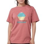 Daddys Little Cupcake Womens Comfort Colors Shirt