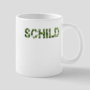 Schild, Vintage Camo, Mug