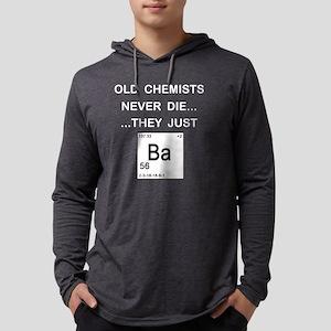 Old Chemists dark copy Mens Hooded Shirt