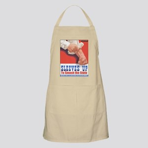 Sleeves Up to Smash the State BBQ Apron