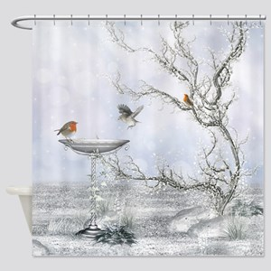 Winter Feeling Shower Curtain