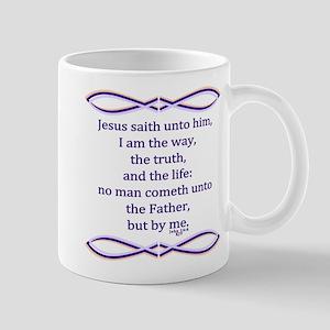 Bible Verse John 14 6 Mug