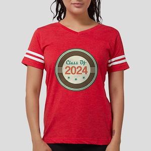 Class Of 2024 Vintage Womens Football Shirt