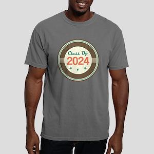 Class Of 2024 Vintage Mens Comfort Colors Shirt