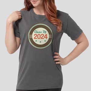 Class Of 2024 Vintage Womens Comfort Colors Shirt