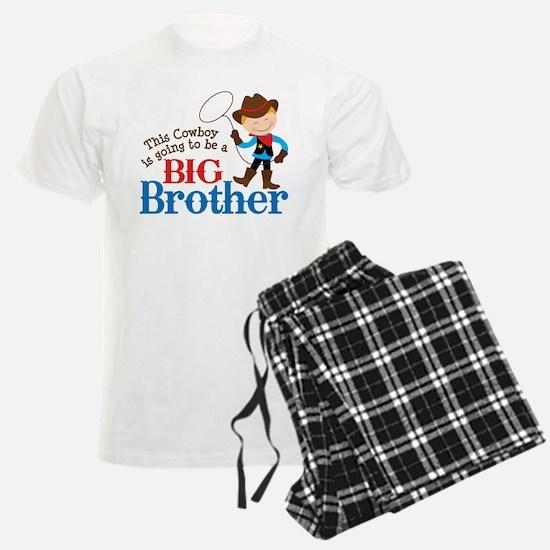 Cowboy Big Brother To Be Pajamas