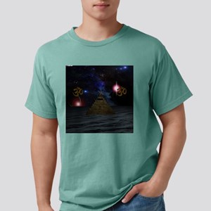 OM Space Pyramid Mens Comfort Colors Shirt